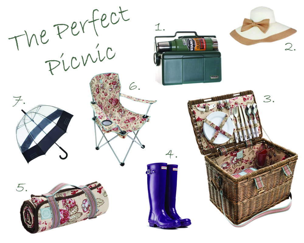 Perfect Picnic Collage