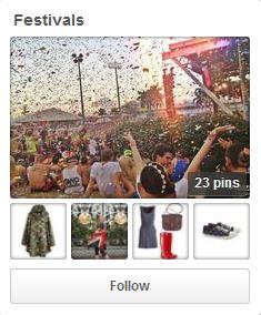 Festival Pinterest