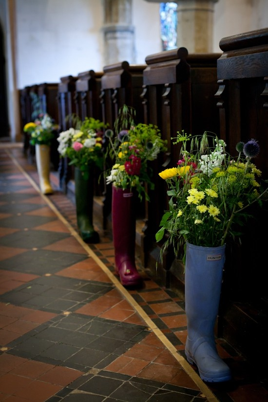 Welly Wedding Flowers