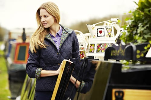 Barbour Clara Ladies Quilt Jacket