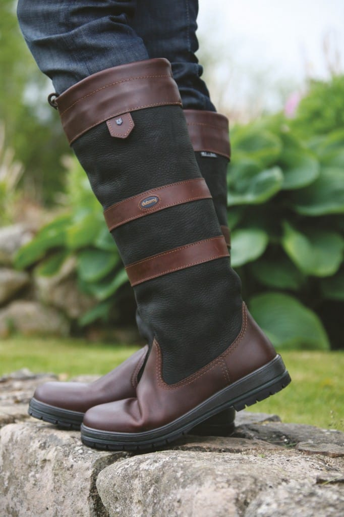 Dubarry Galway Boots -Black/Brown
