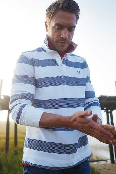 Crew Clothing Solent Men Rugby Top