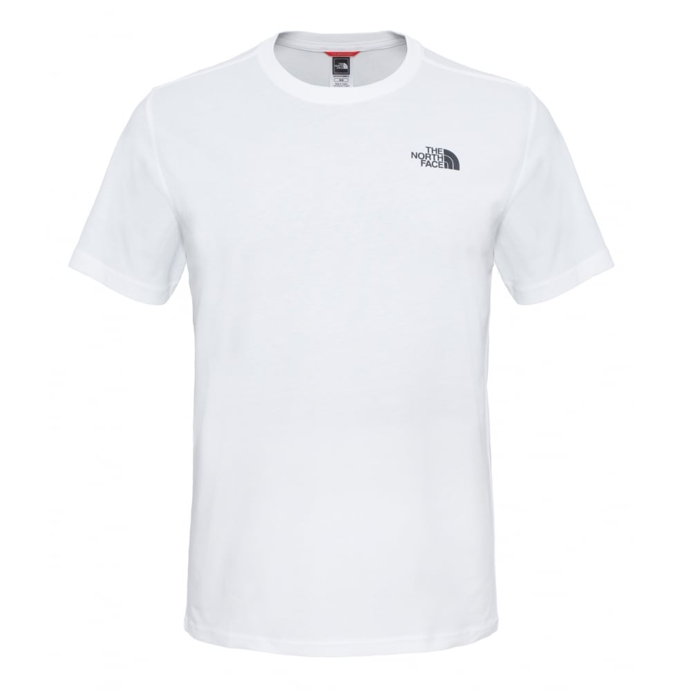 The North Face SS Redbox Mens T-Shirt - White