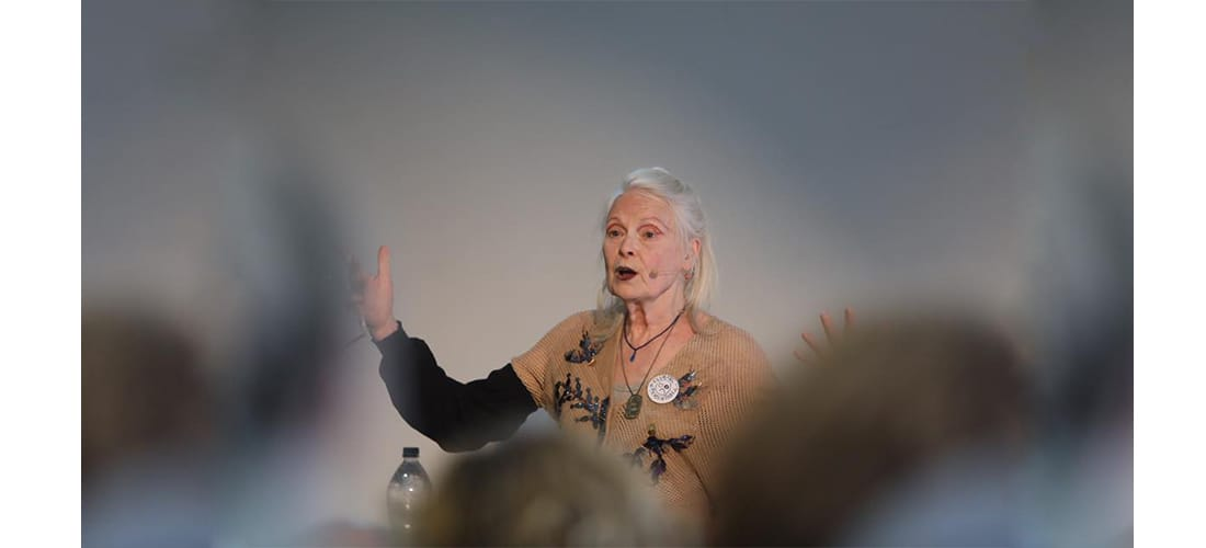 Vivienne Westwood at the University of Cumbria