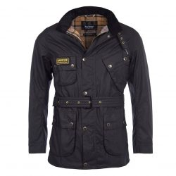 Barbour International Slim International Mens Wax Jacket