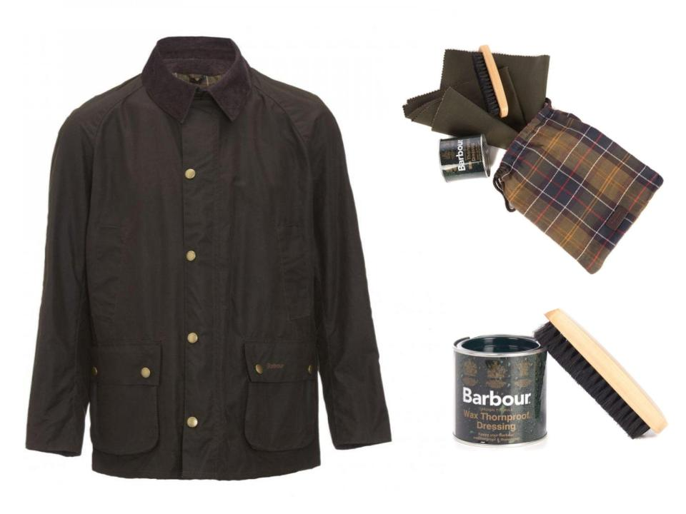 barbour re wax jacket