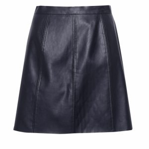Great Plains Matilda Pleather Womens Mini Skirt