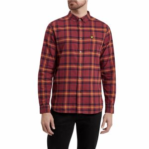Lyle & Scott Check Flannel Mens Shirt