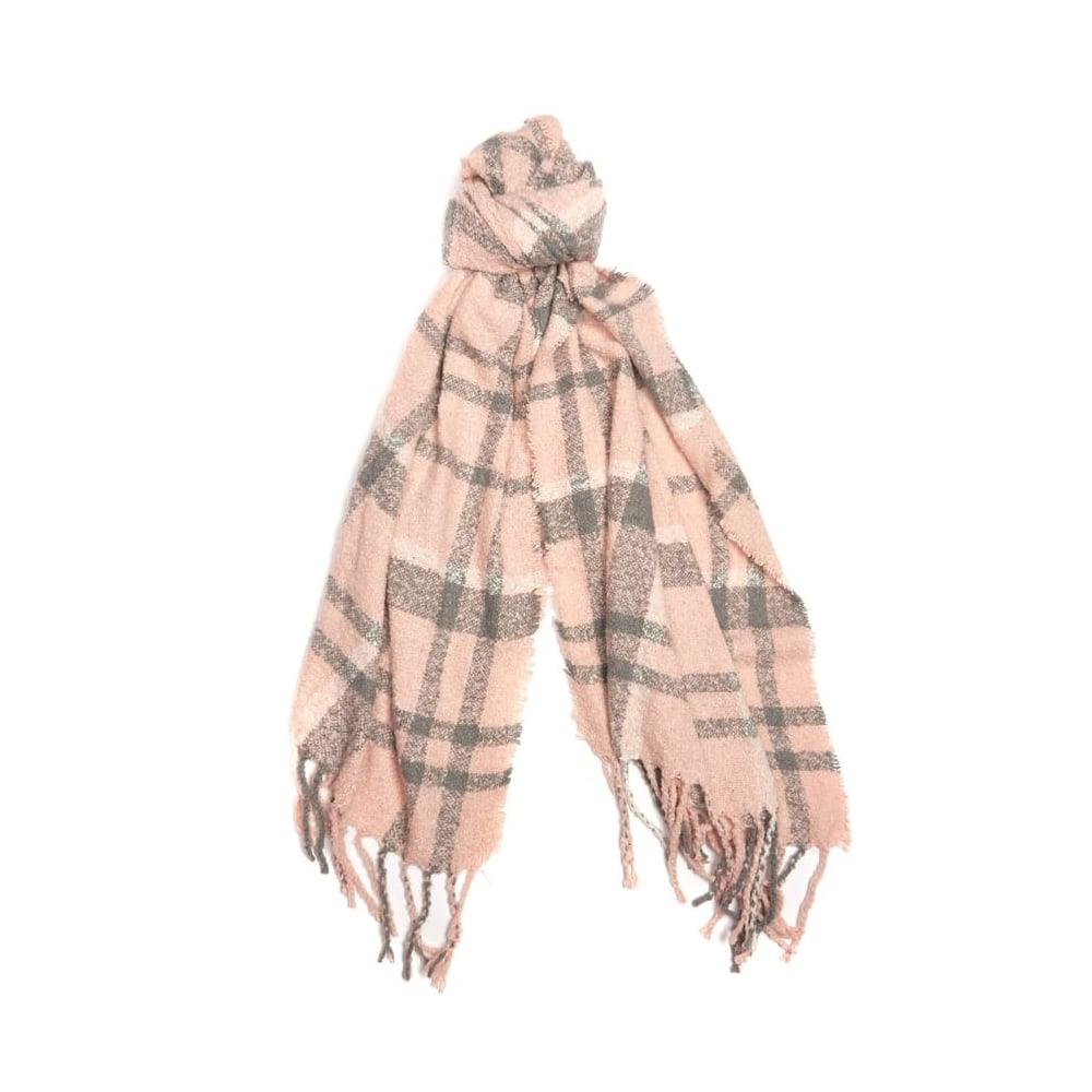 Barbour Tartan Ladies Boucle Scarf