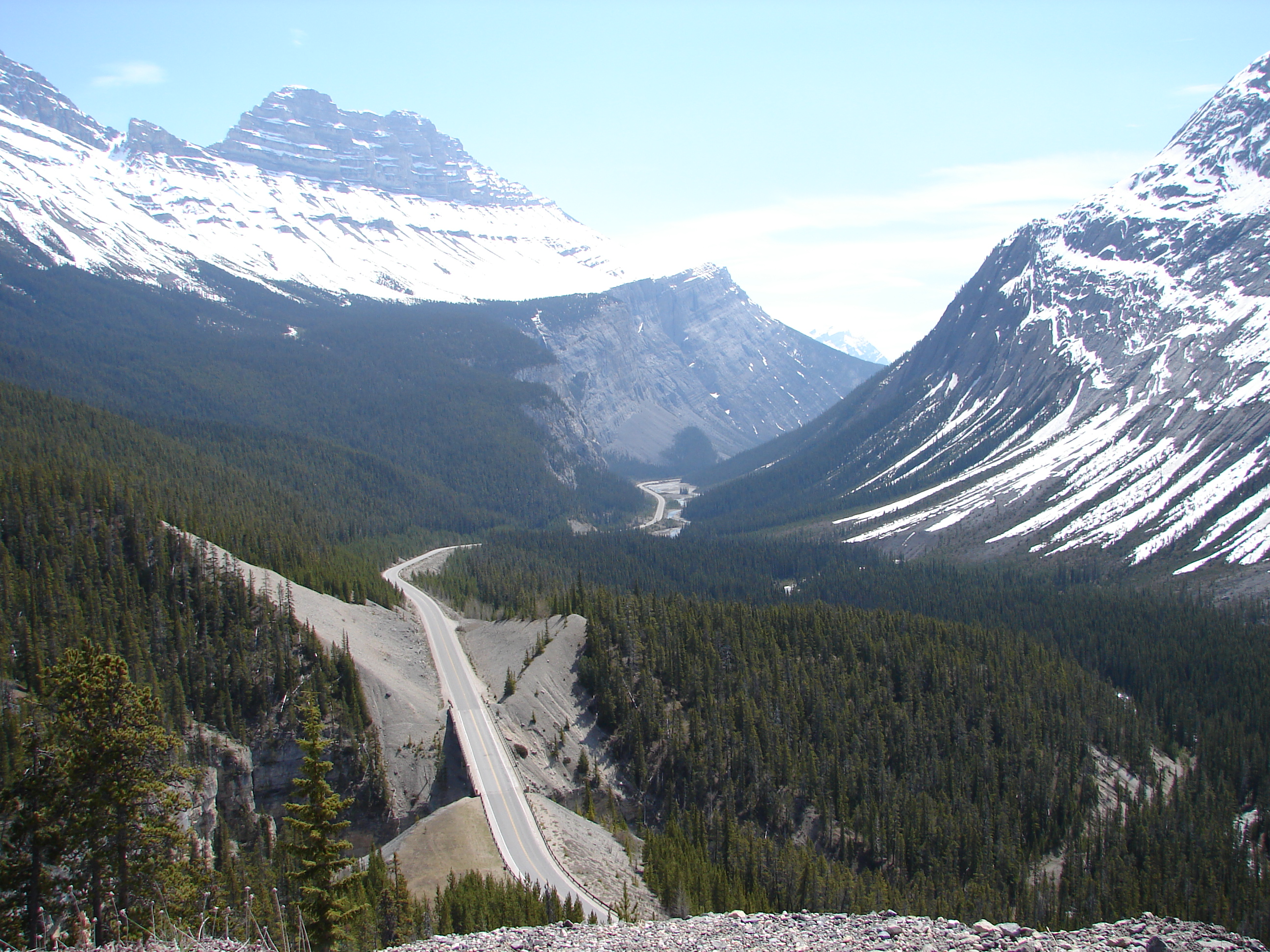 icefields parkway motorcycling