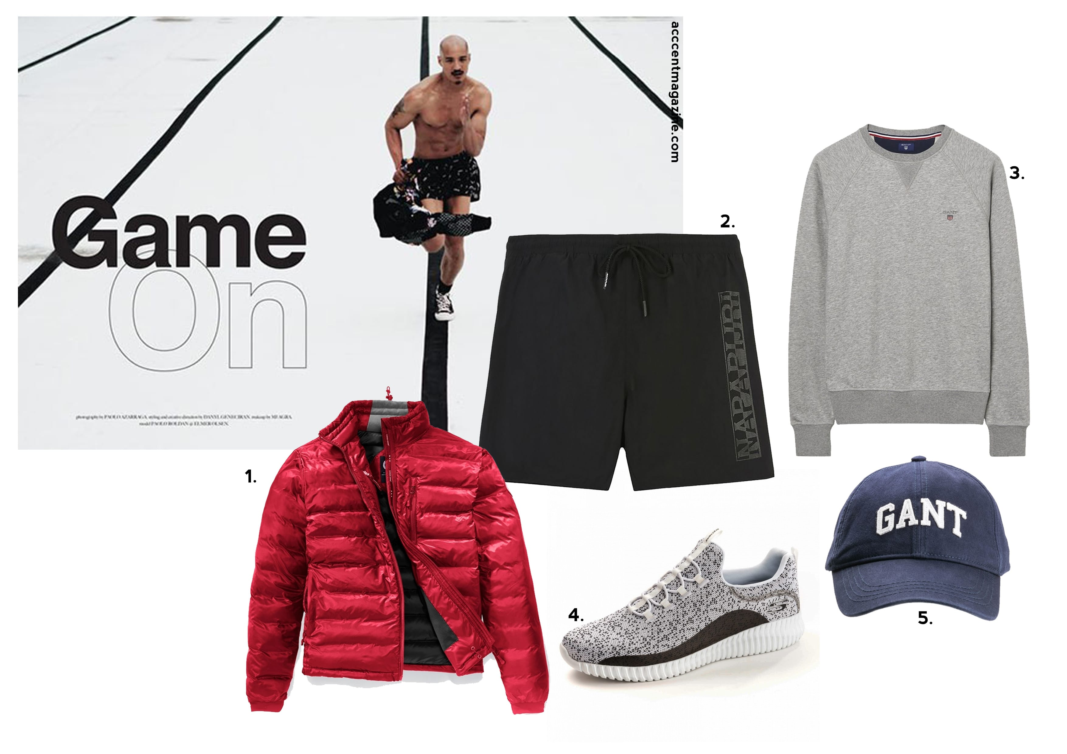 Anthony Joshua, World Champion, Boxing, Menswear, Fashion, Sports, Gym, Style Guide, Gift Guide, Father's Day 2018, Father of the year, Canada Goose, GANT, Napapijri, Game On