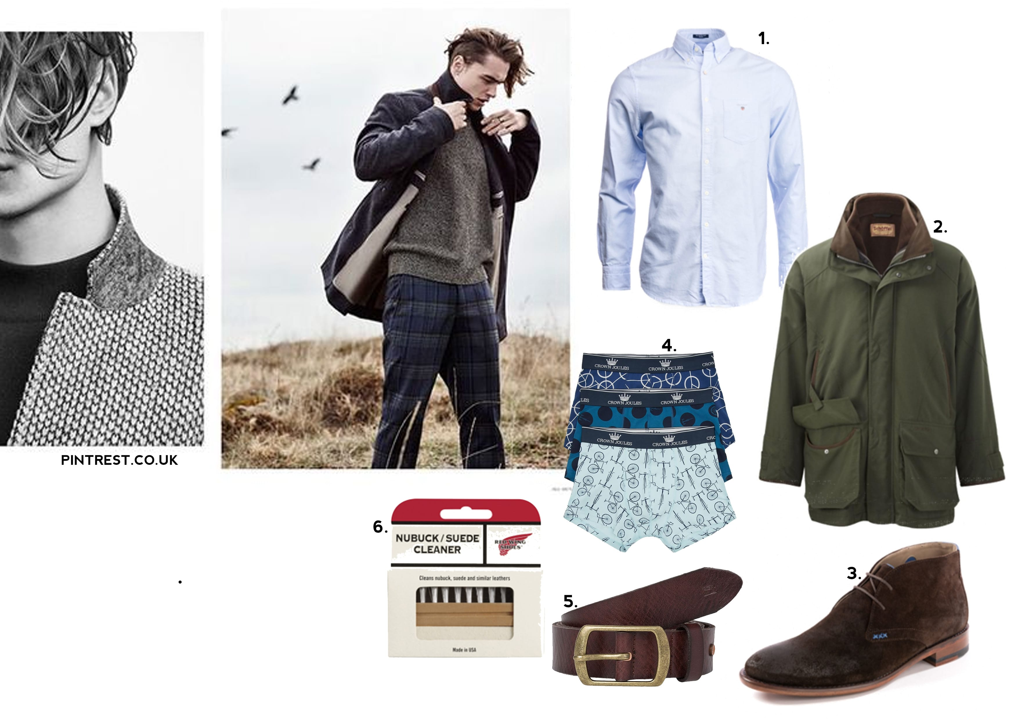 Fashion, Menswear, Style, Father's Day 2018, Gift Guide, Style Guide, Hunter, GANT, Oliver Sweeney, Red Wing, Scotch & Soda