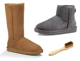 how to clean ugg boots