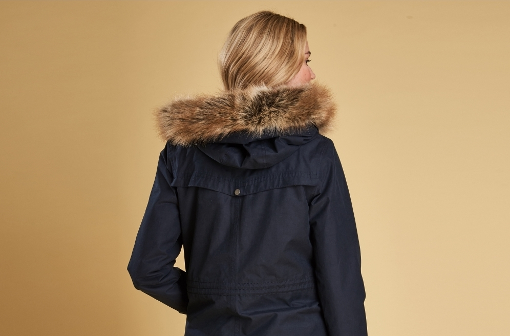 how to spot a fake barbour jacket faux fur quality