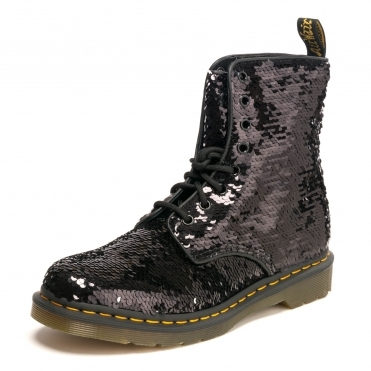 6bccdb1e0f9 8 Eye Boot 1460 Pascal Reversible Womens Sequin Boot. Dr Martens ...