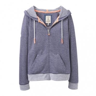 Adriana Zip through Hooded Sweatshirt (U)