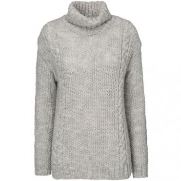 Alpaca Ladies Turtle Neck