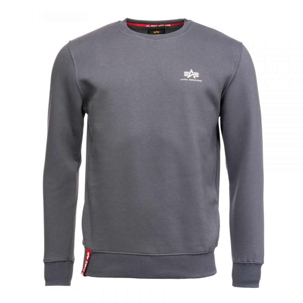 93d97cde8 Alpha Industries Basic Mens Sweater Small Logo - Mens from CHO ...