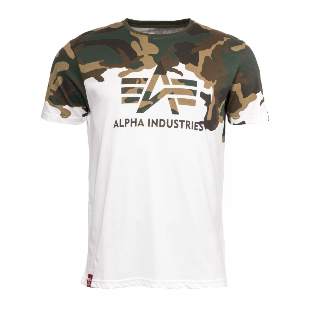 size 40 4f268 8ba18 Alpha Industries Alpha Industries Lost Camo Mens T-Shirt