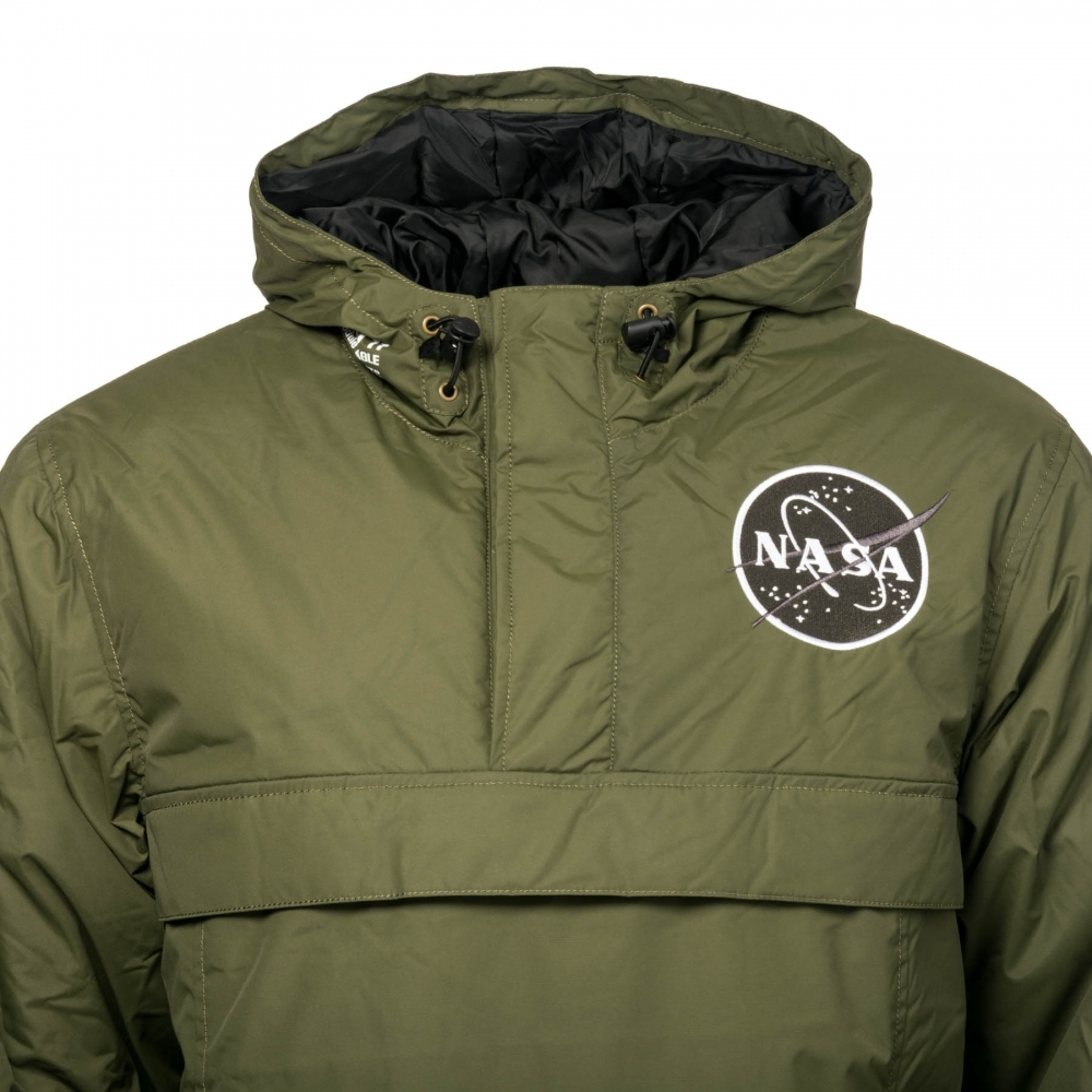 4cb95e511 Alpha Industries Alpha Industries Mens NASA Anorak Jacket