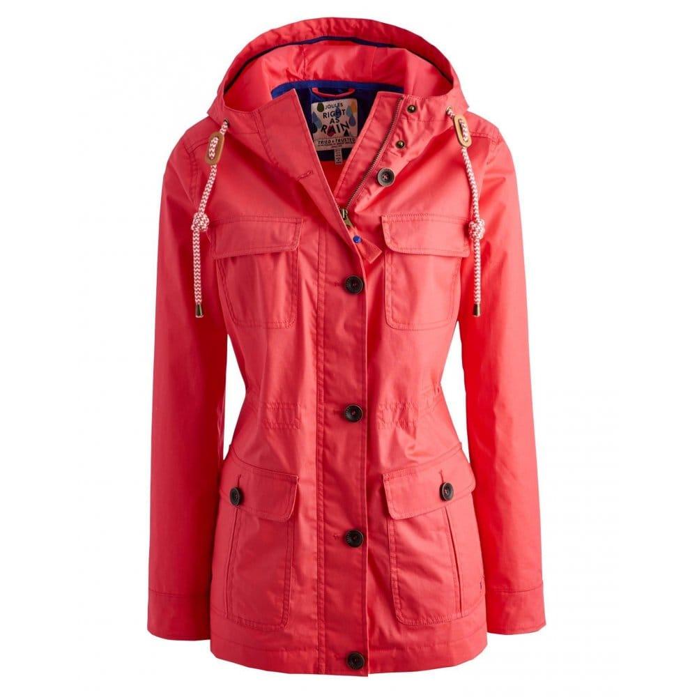 Joules April Ladies Waterproof Jacket (S) - Womens from CHO ...