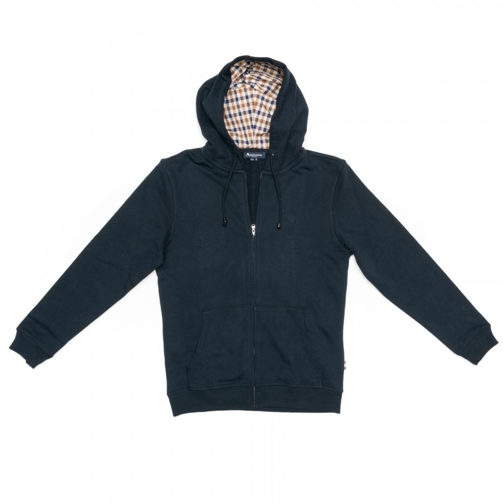 Aquascutum Men`s Luther Hoody Sweatshirt