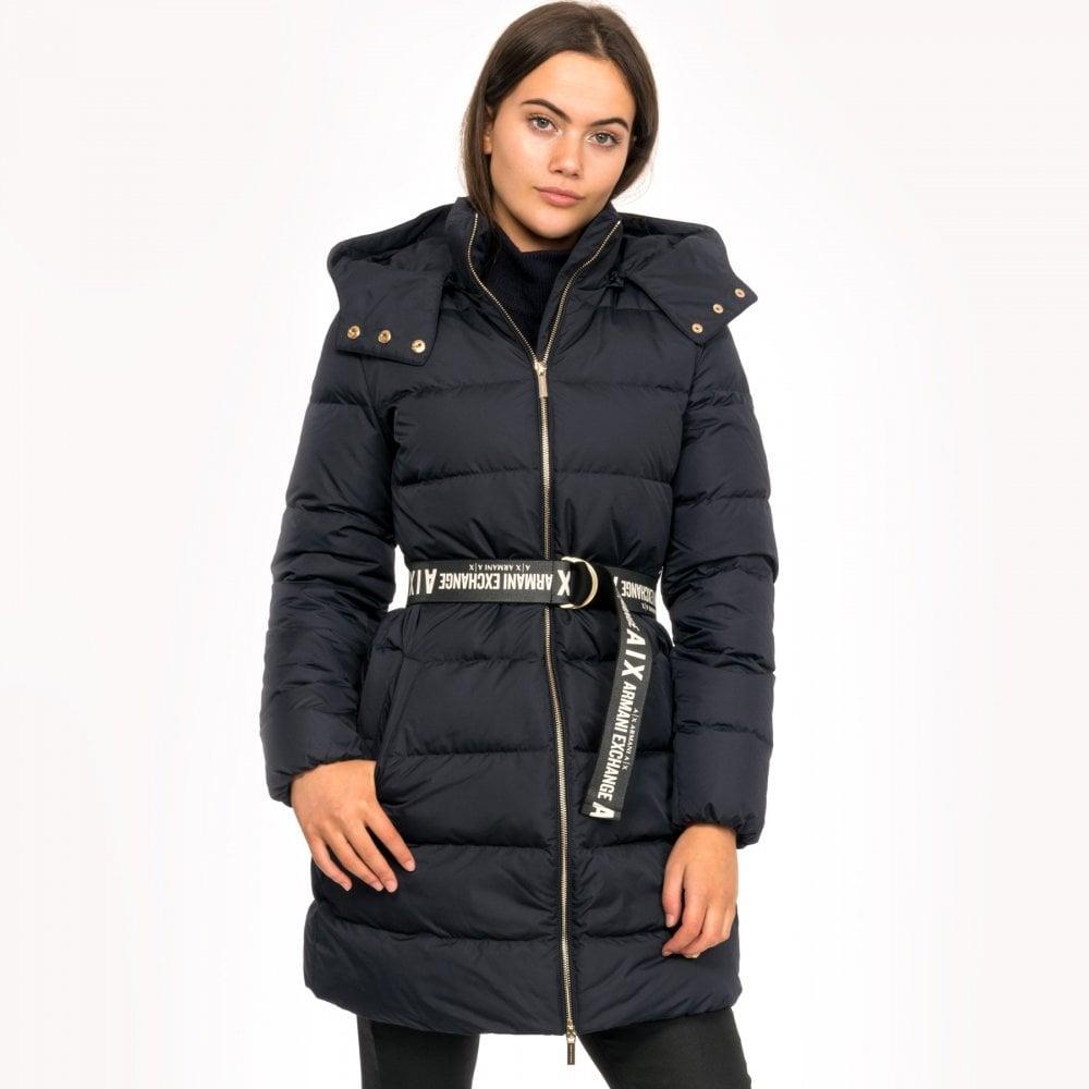 online retailer bee86 0158a Armani Exchange Armani Exchange Womens Giacca Piumino 6GYK09