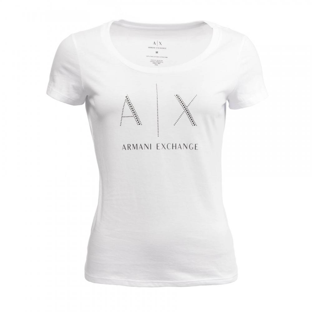Womens Exchange Shirt T Armani 8nyt83 OkuiPXTZ