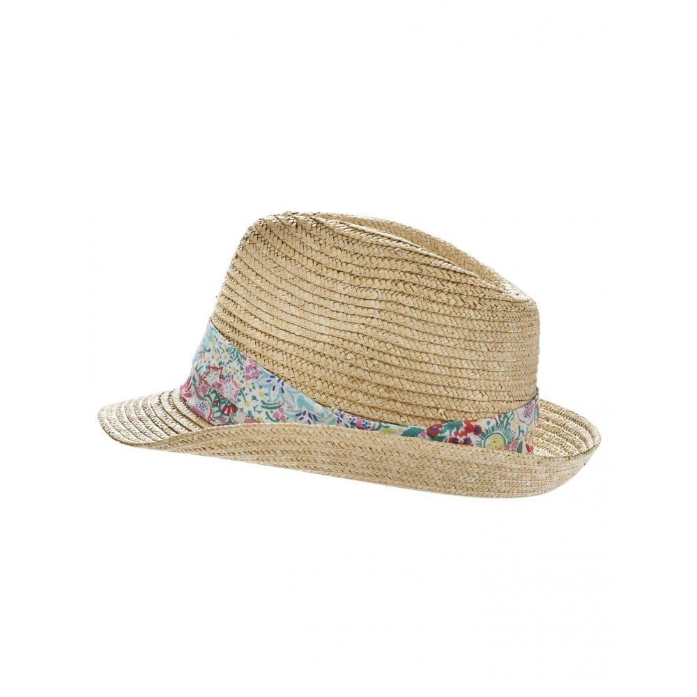 joules austwick straw trilby hat s accessories