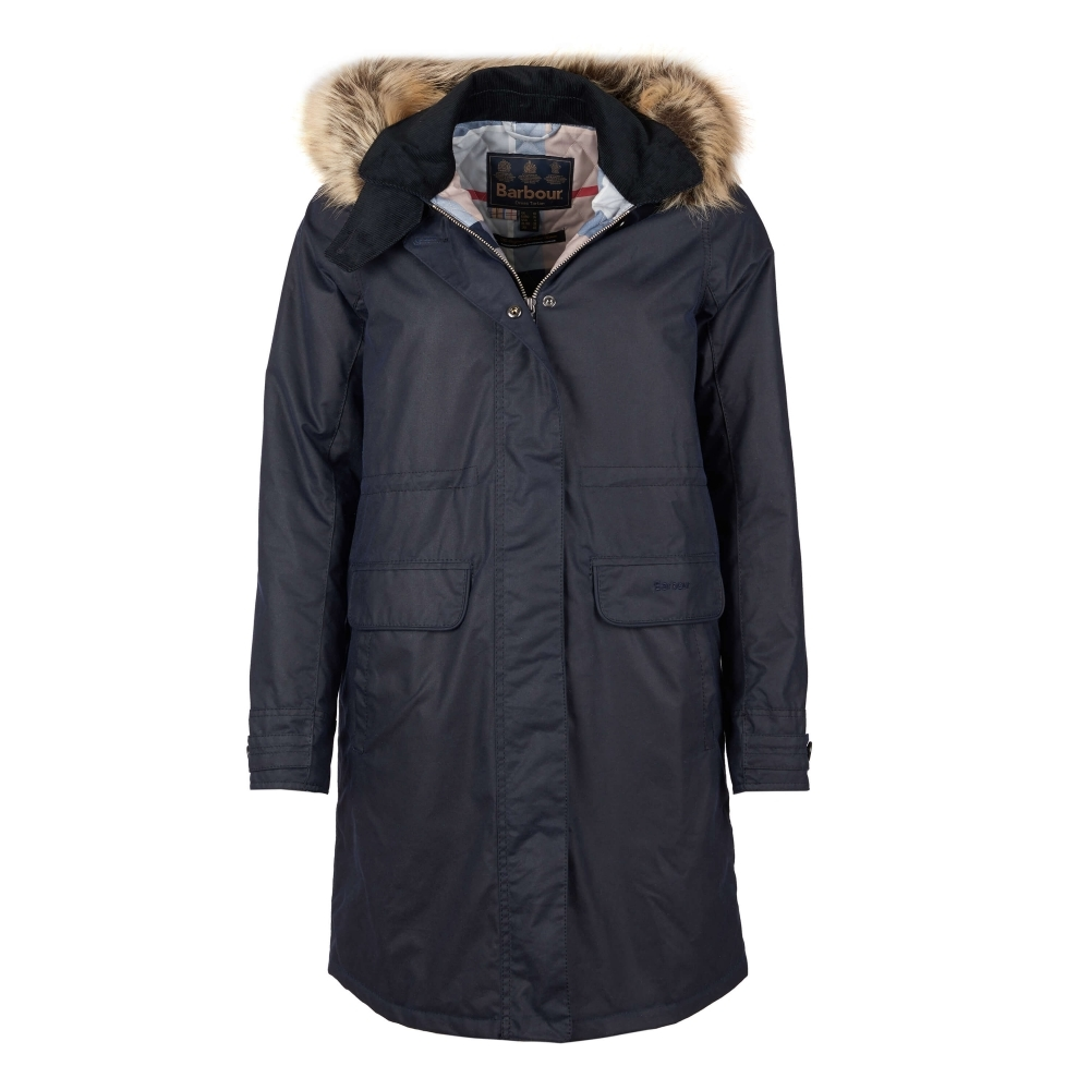 Barbour Galloway Wax Womens Jacket - Womens from CHO Fashion and ... ab436bc85a84