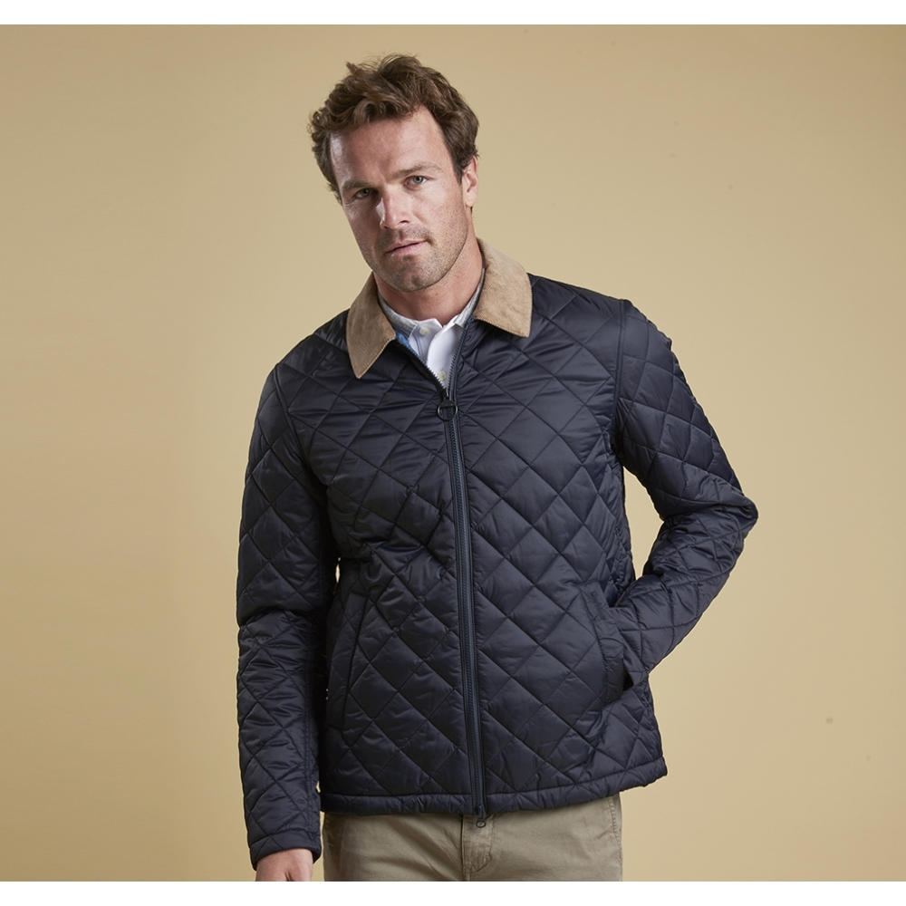 barbour com jacket bk s mens quilted powell black backcountry quilt men