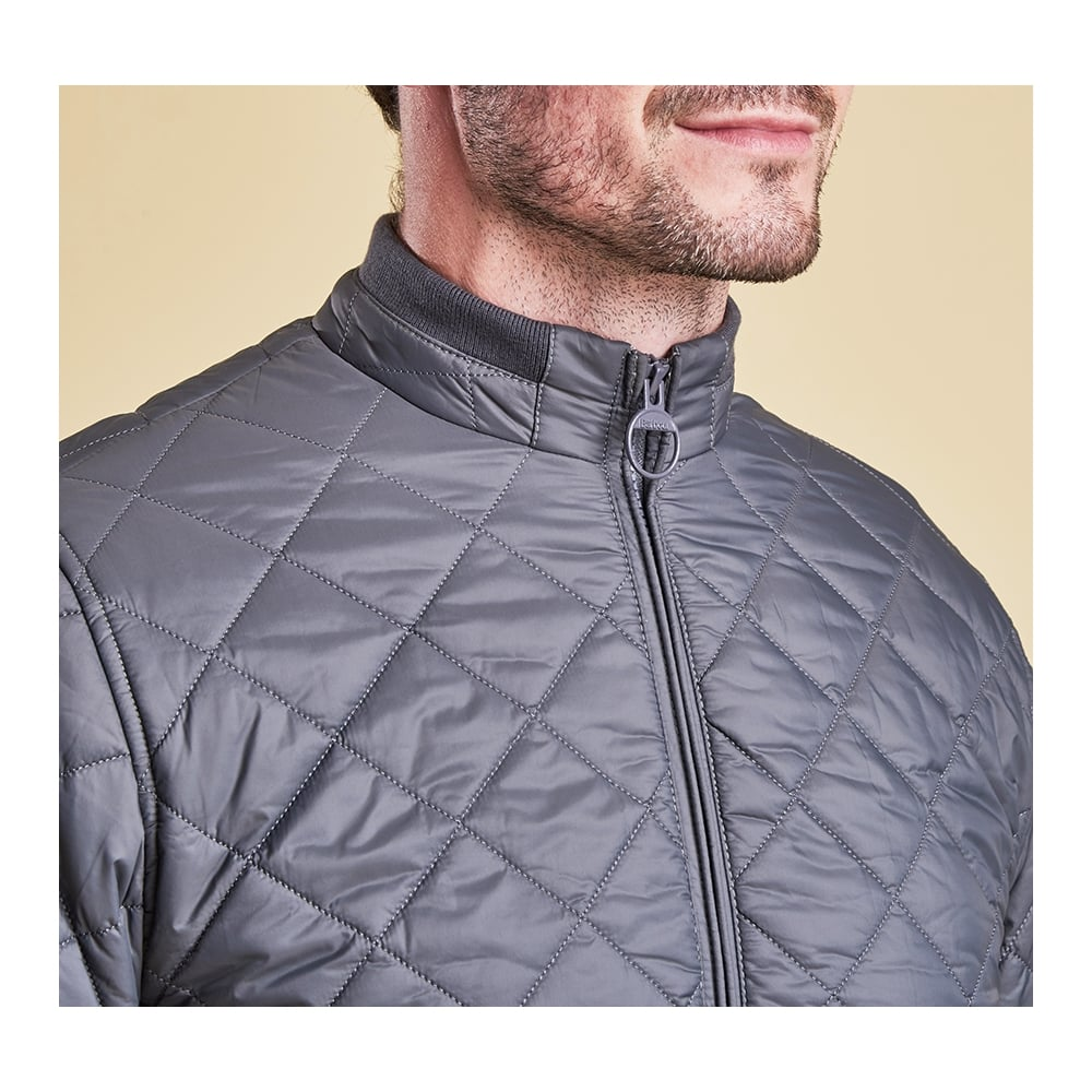 international hooded navy quilted p black slim ouston barbour quilt info jacket mens product
