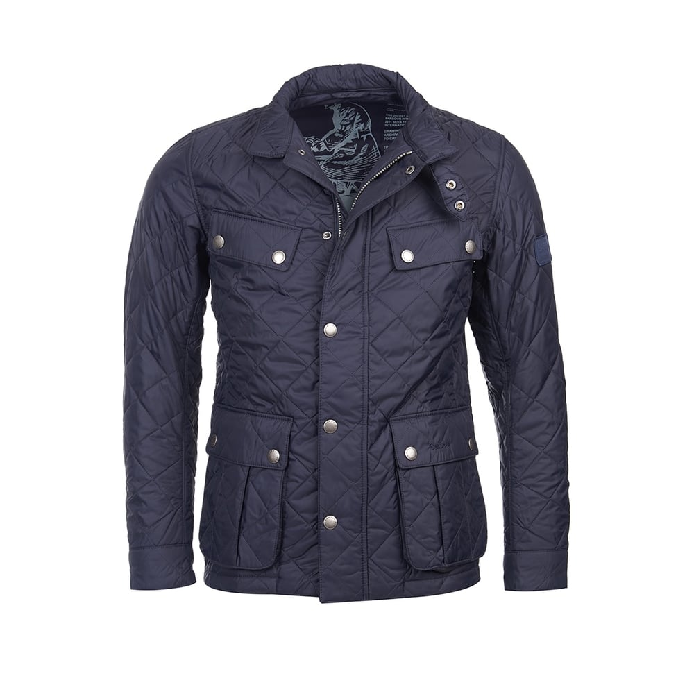 Barbour International Ariel Mens Quilt Jacket Mens From