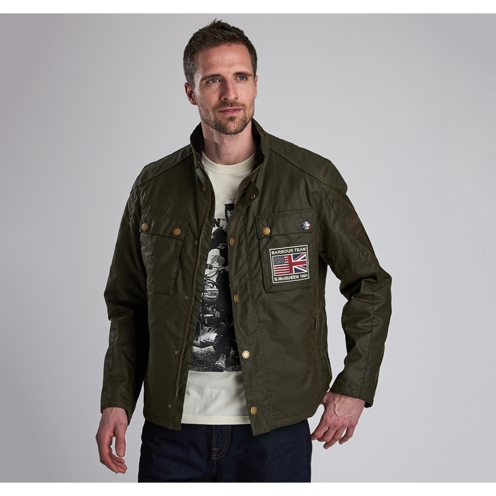 barbour international jacket mens