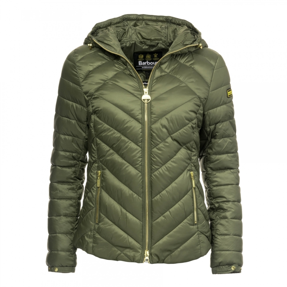 Barbour International Durant Quilted Womens Jacket