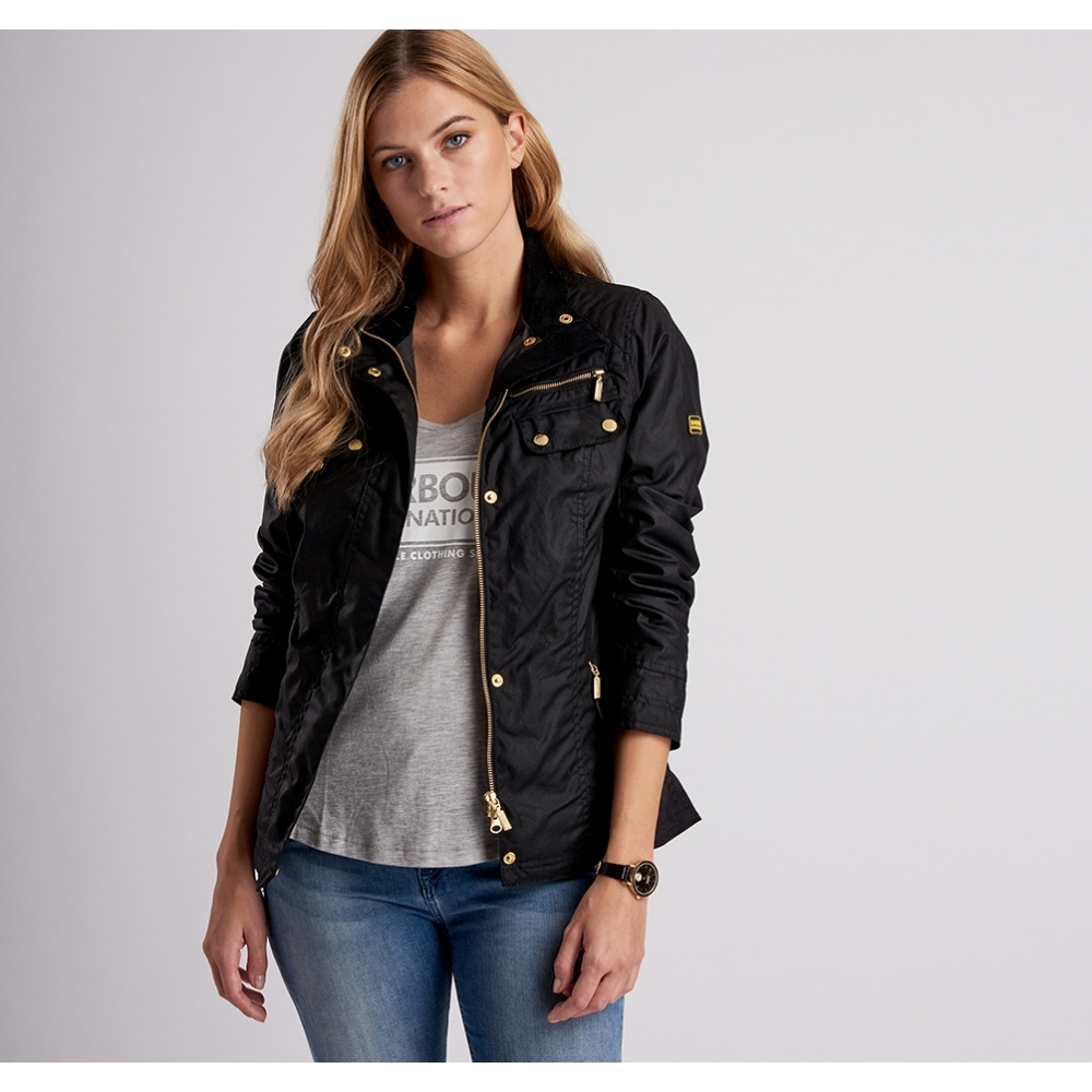 barbour international jacket womens
