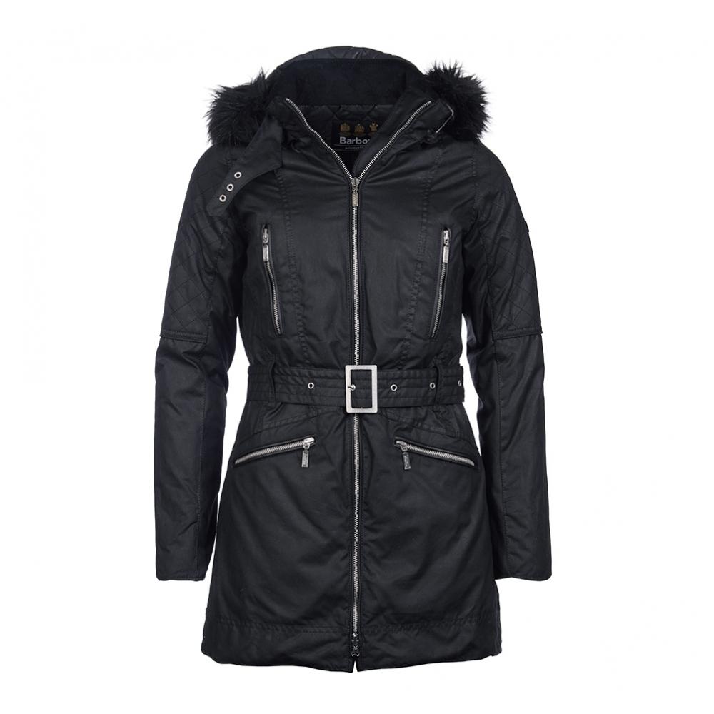 Barbour International Mondello Womens Wax Jacket - Womens from CHO ... cab806e80ae6
