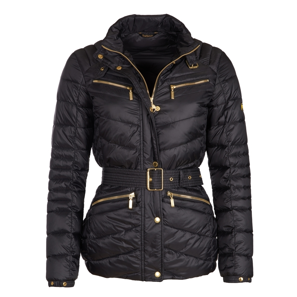 Barbour International Trail Womens Quilted Jacket - Womens from CHO ... 8b581876d4