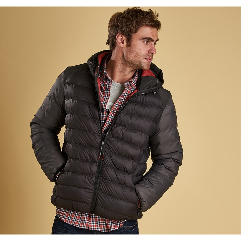 barbour jib quilted jacket