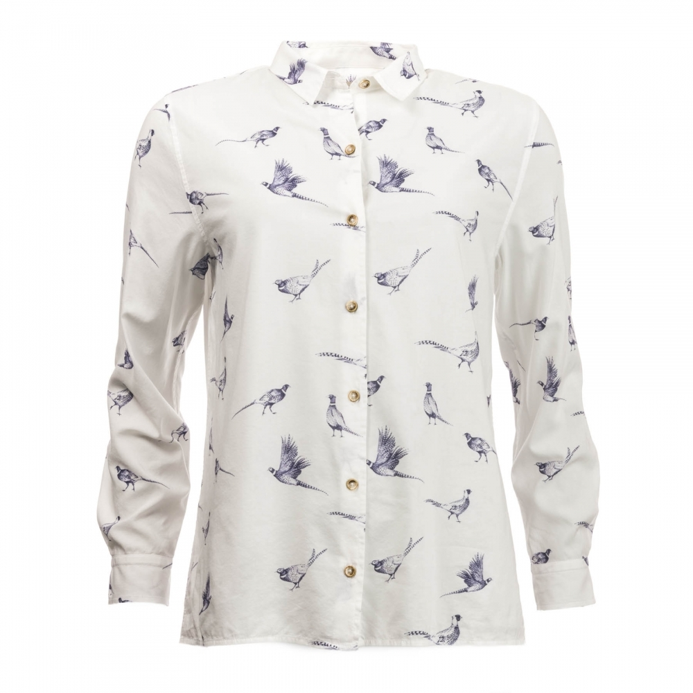 54530ad50 Twill Safari Shirt Source · Barbour Safari Womens Shirt Womens from CHO  Fashion and Lifestyle UK