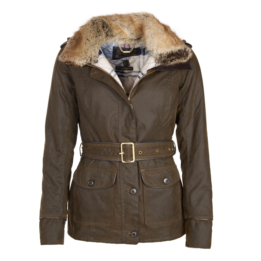 Barbour Stirling Womens Wax Jacket - Womens from CHO Fashion and ... be56a91d64