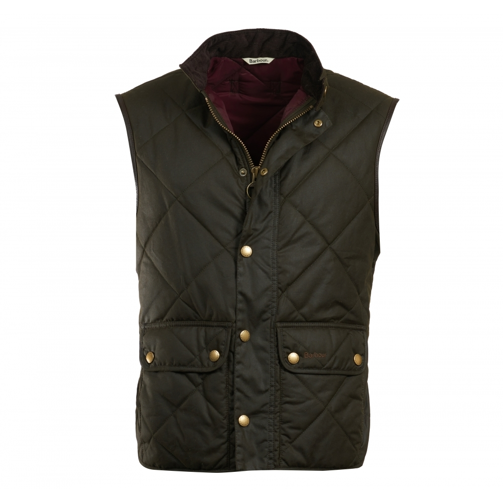 Barbour Wax Lowerdale Mens Gilet Mens From Cho Fashion