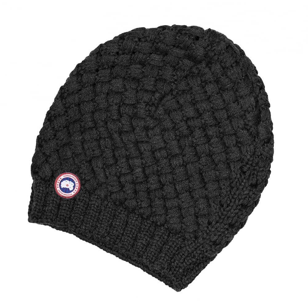 17c9c76ff49 Canada Goose Basket Weave Slouchy Ladies Hat - Accessories from CHO ...