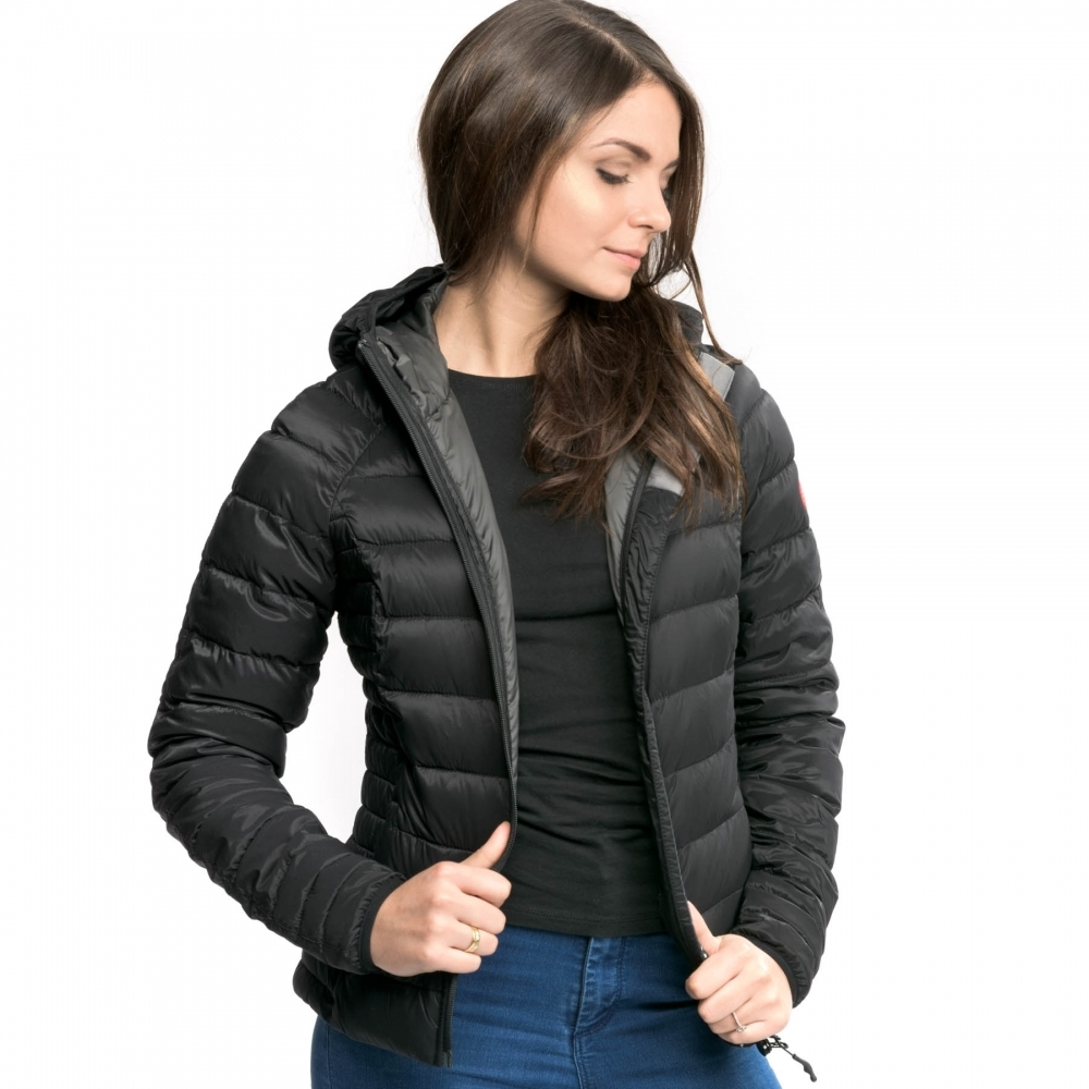 73fb5a01f Canada Goose Brookvale Ladies Hooded Jacket - Womens from CHO ...