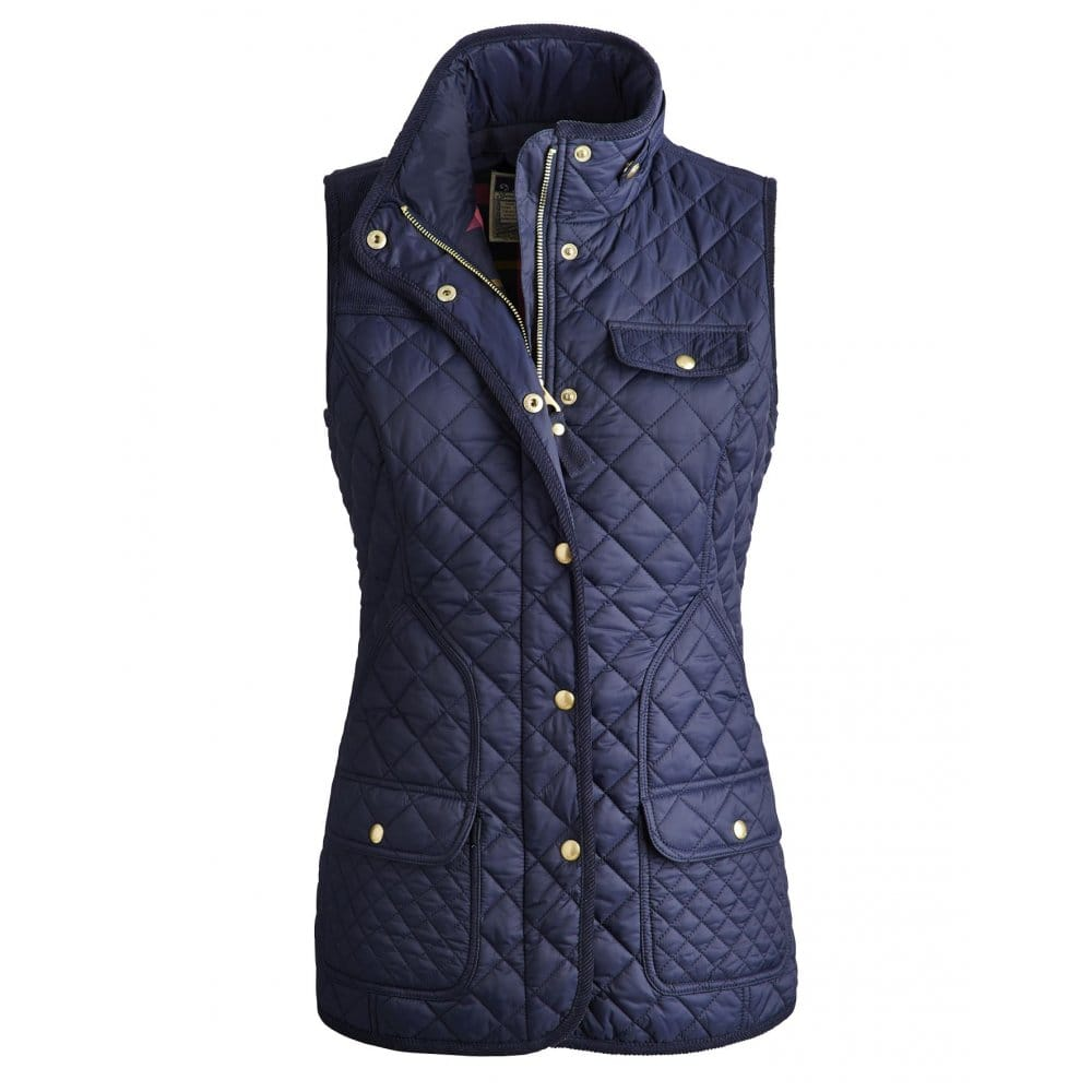 Joules Camilla Ladies Quilted Gilet S Joules From