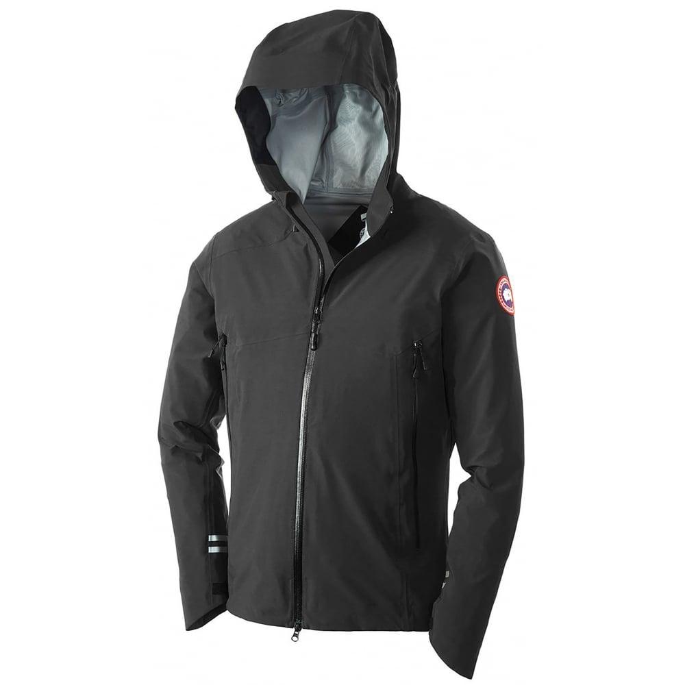 canada goose black hoodie