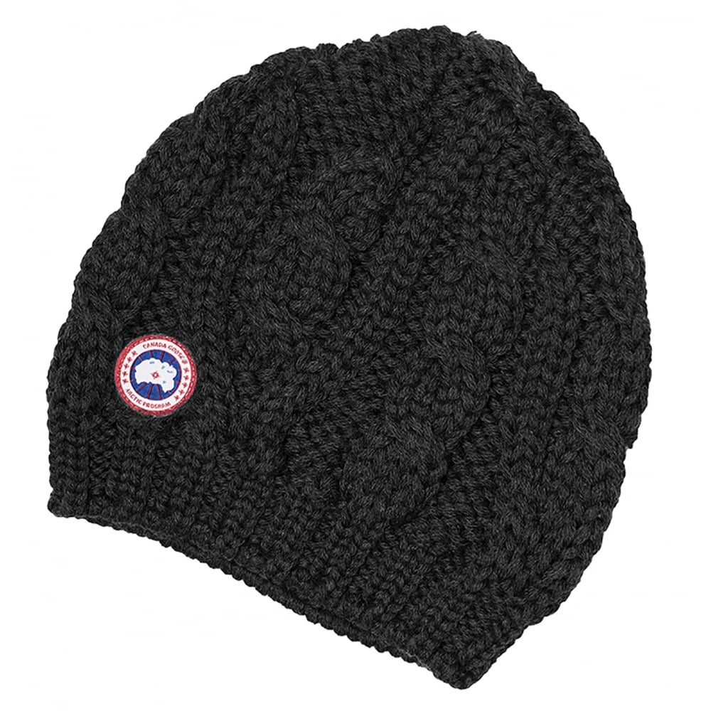 e9409a3cc49 Canada Goose Chunky Cable Knit Ladies Beanie - Accessories from CHO ...