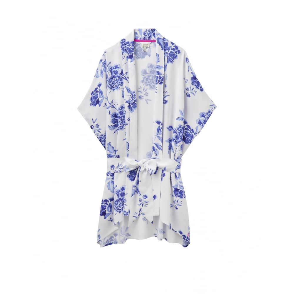 Joules Clara Woven Kimono Dressing Gown (U) - Womens from CHO ...