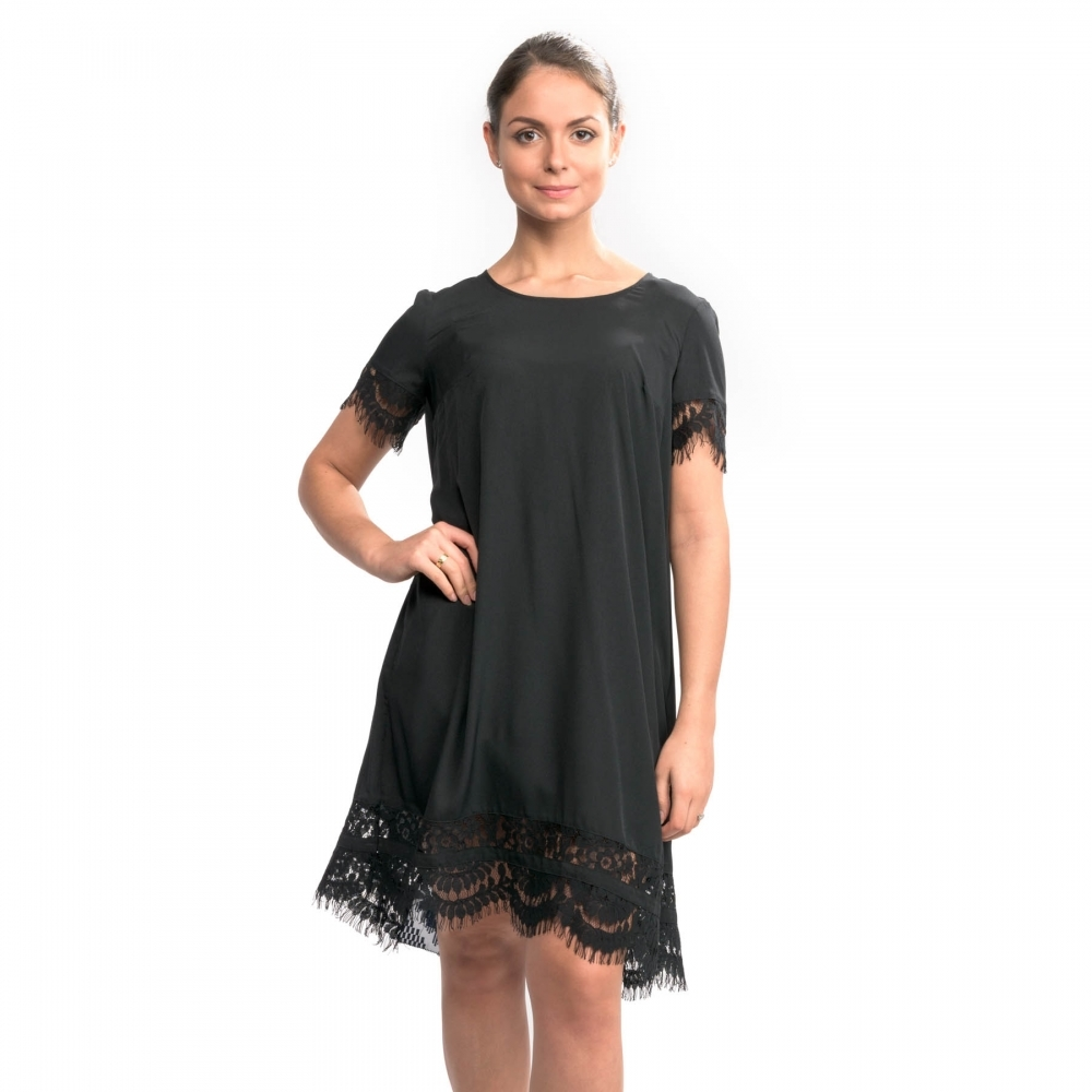 53c230e1699 French Connection Classic Crepe Light Woven Ss Tunic Womens Dress ...