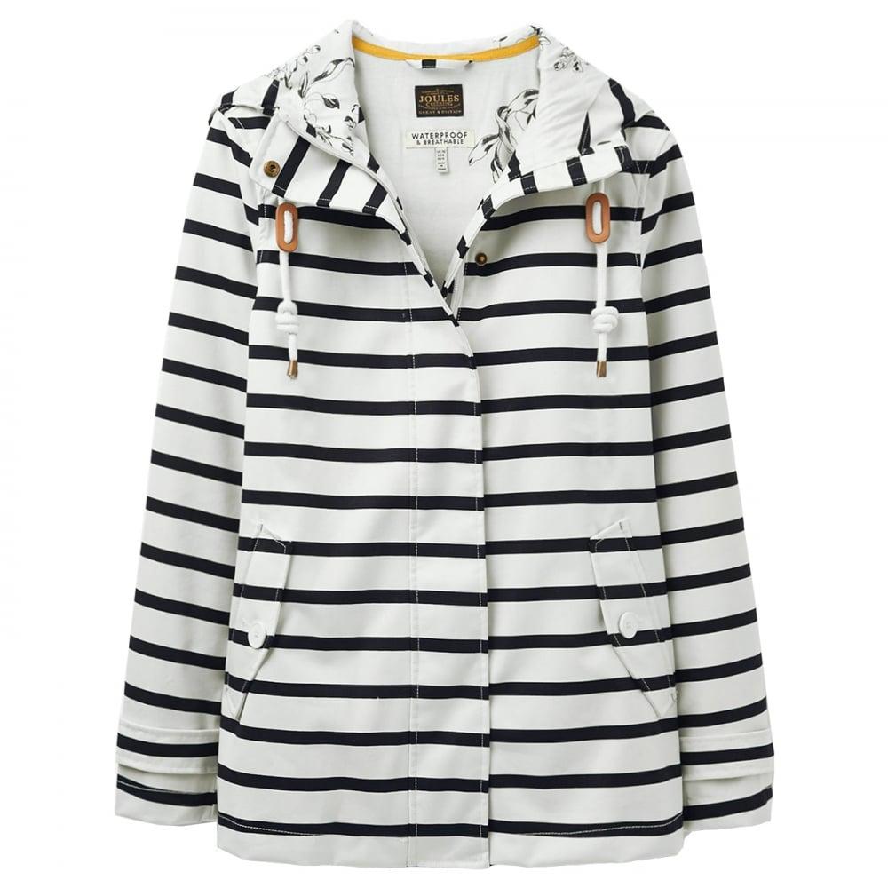 71f1d0271 Joules Coast Printed Waterproof Ladies Jacket (U) - Womens from CHO ...